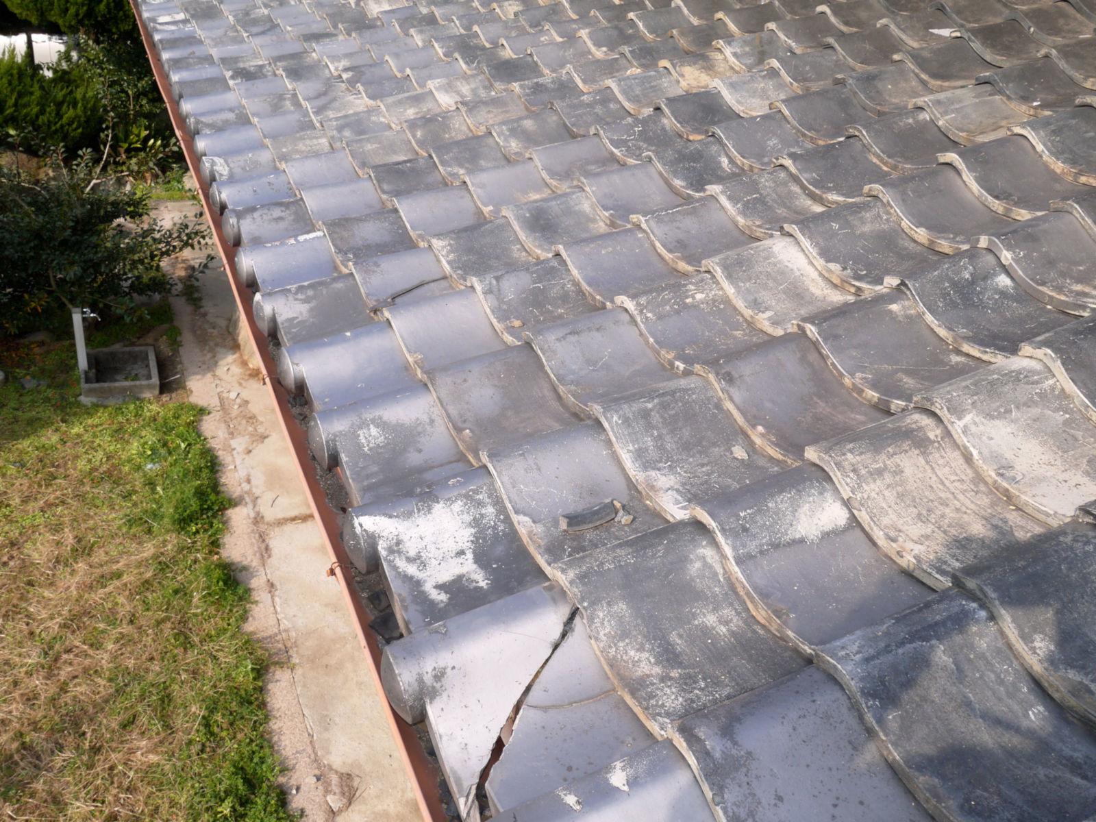 屋根修理箇所